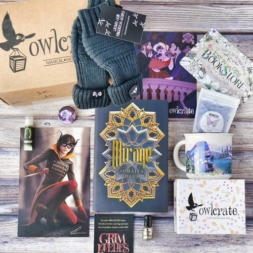 OwlCrate September 2018 'MASTERS OF DISGUISE' Box