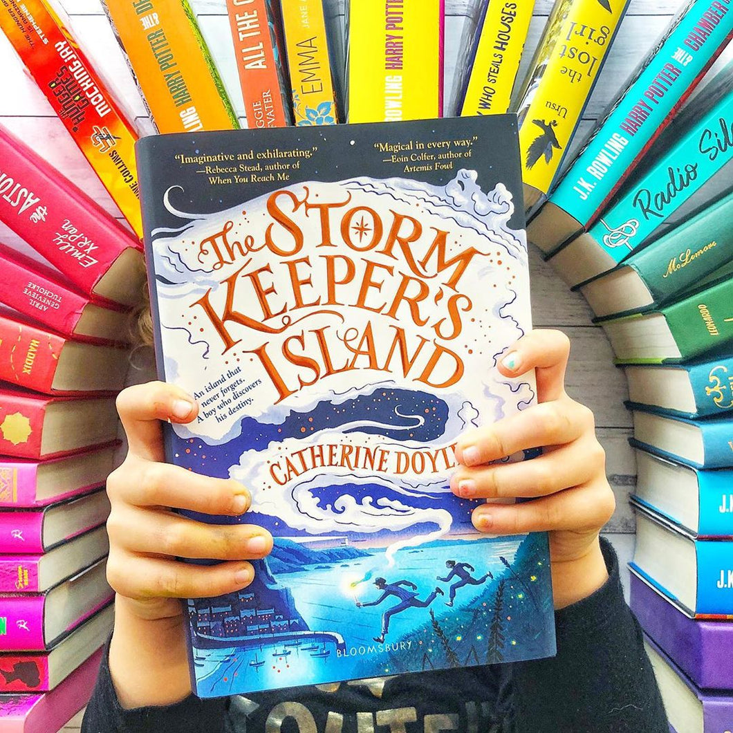 The Storm Keeper's Island ( w/ Author Letter and Signed Bookplate)