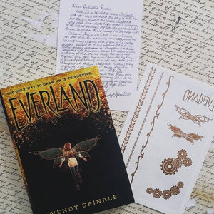 Everland (w/ Author Letter, and Nail Decals)