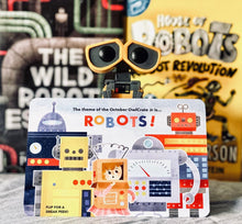 OwlCrate Jr October 2019 'ROBOTS!' Box