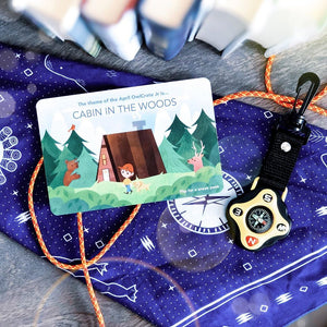 OwlCrate Jr April 2020 'CABIN IN THE WOODS' Box