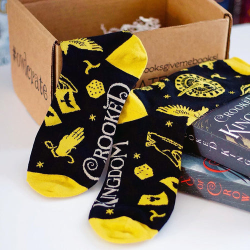 Crooked Kingdom Socks