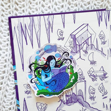 Reading Mermaid Sticker