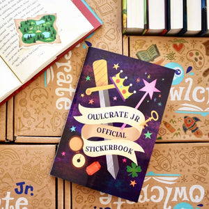 OwlCrate Jr Official Stickerbook