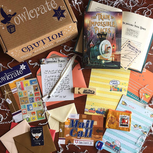 OwlCrate Jr October 2018 'MAIL CALL' Box
