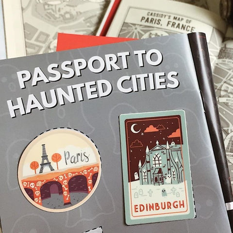 Paris Passport Sticker
