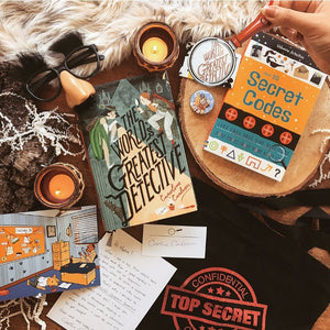 OwlCrate JR May 2017 'ON THE CASE' Box