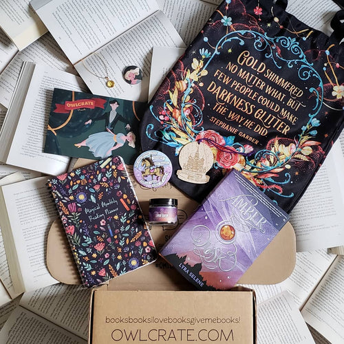 OwlCrate December 2018 'POWER OF ILLUSIONS' Box