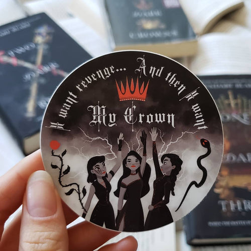 Three Dark Crowns Sticker