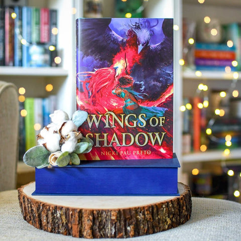 Wings of Shadow by Nicki Pau Preto (Exclusive Signed Edition with Sprayed Edges)