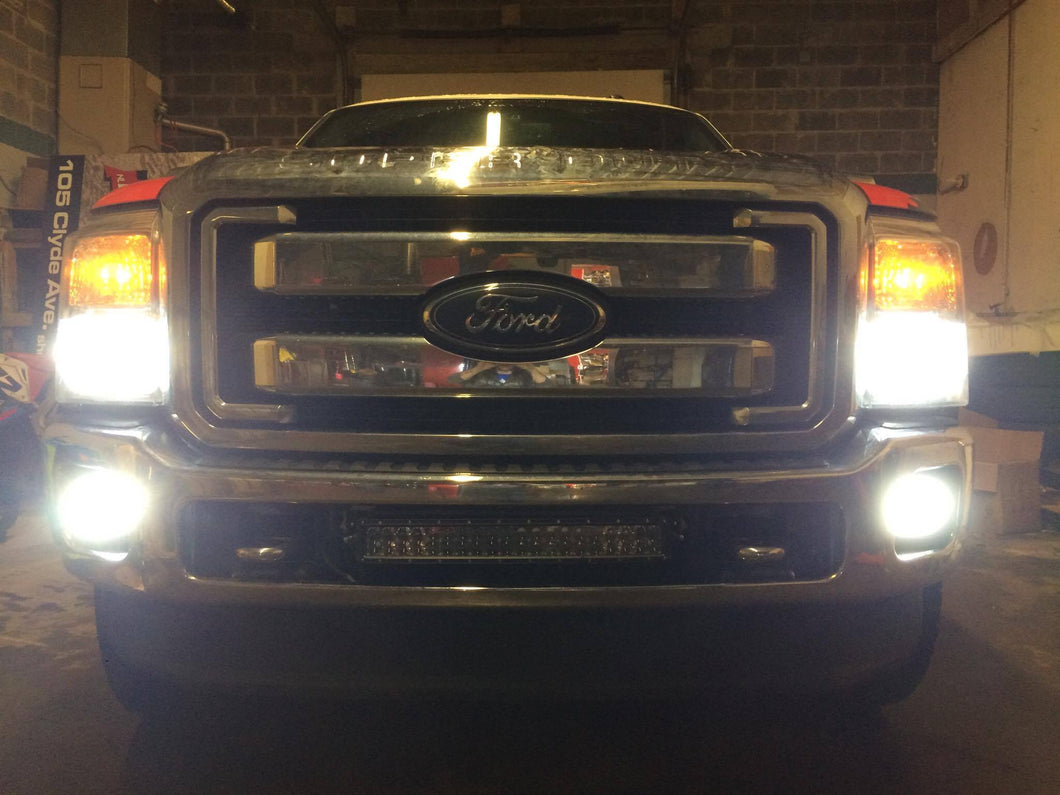 2007-2016 Ford F250 F350 F450 duraseries M3 LED headlight package (Choose Fog lights)