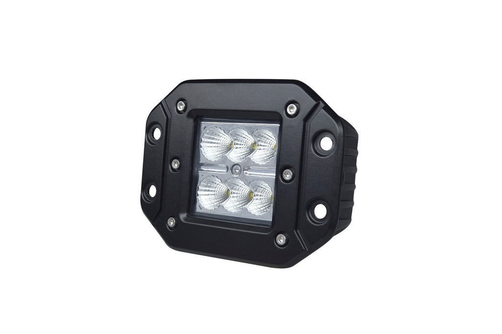 6 LED Flush Mount Flood Cube