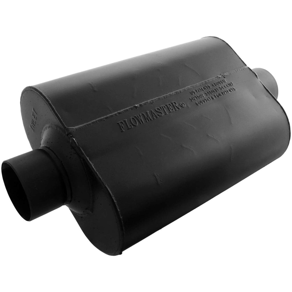 Super 44 Muffler - 3.00 Center In / 3.00 Center Out - Aggressive Sound  PART# 943045