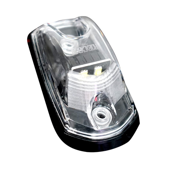 Ford 17-19 Super Duty 5 Piece Cab Light LED Clear Lens in White (For Non-OEM Trucks)  264342WHCL