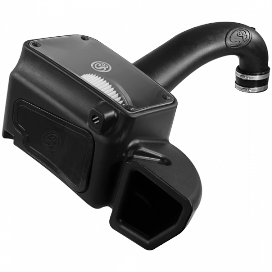 Cold Air Intake For 09-18 Dodge Ram 1500/ 2500/ 3500 Hemi V8-5.7L Dry Extendable White S&B