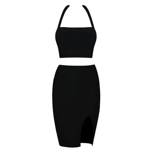 BLACK ANGELICA TWO PIECE