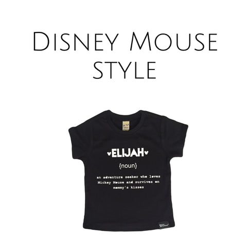 Name Definition™ THE MOUSE Inspired Tees