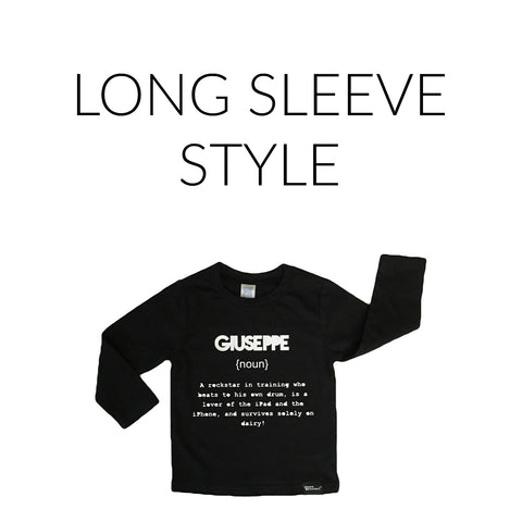 Name Definition™ Long Sleeve
