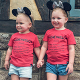 Name Definition™ Basic Noun Collection | DISNEYAHOLIC Tee