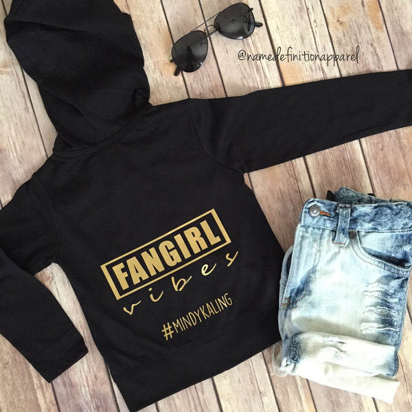 Name Definition™ | FANGIRL | ZIP HOODIE