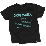 Name Definition™ Basic Noun Collection- | CUDDLE MONSTER Tee