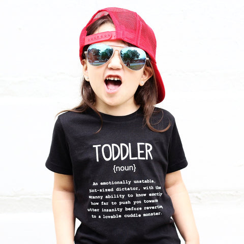 Name Definition™ Basic Noun Collection-  TODDLER Tee