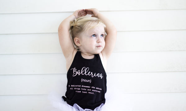 Name Definition™ Basic Noun Collection-  RACER TANK | BALLERINA