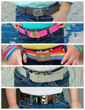 Buckle Belts | Custom Initial Letter