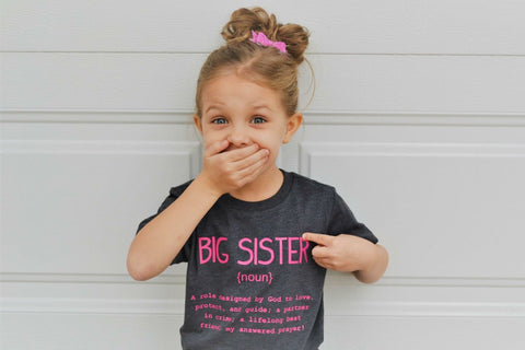 Name Definition™ Basic Noun Collection | BIG SISTER Tee
