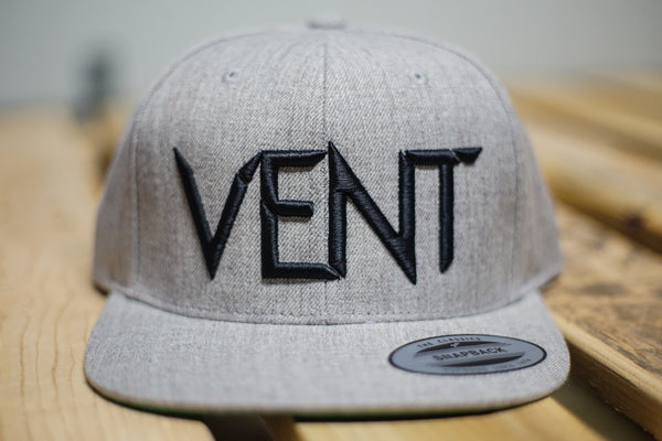 Vent Insider Snapback - Grey/Black SOLD OUT