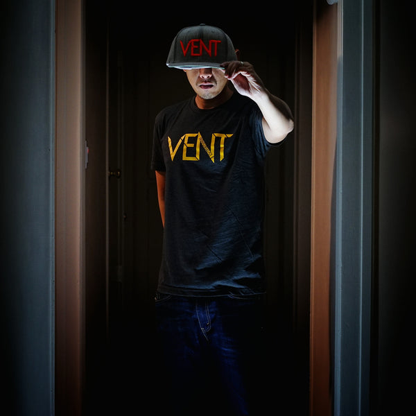 Vent Insider Snapback - Grey/Orange - SOLD OUT