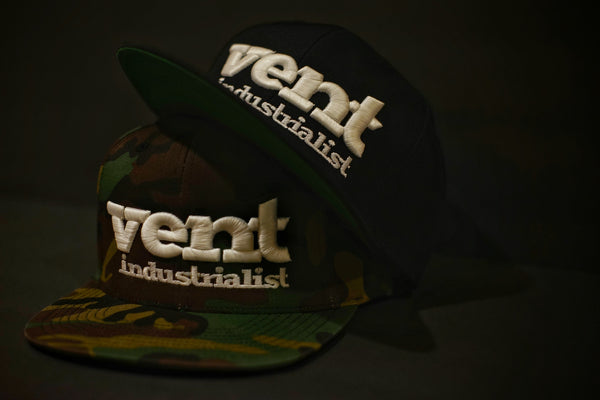 Vent Branded Snapback - Camo/Black SOLD OUT