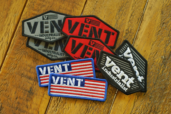 Vent MFG Velcro Patches