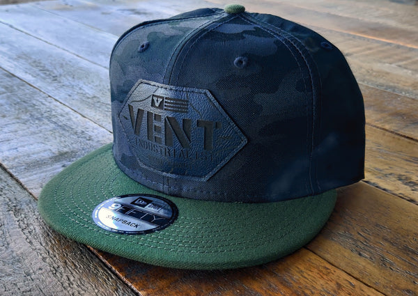 Vent Camo New Era Snapbacks