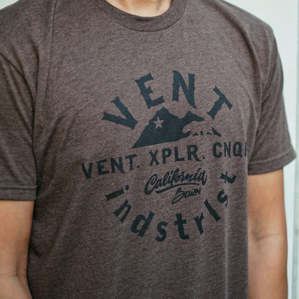 Vent California Born Tee - Black