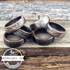 national park quarter coin rings