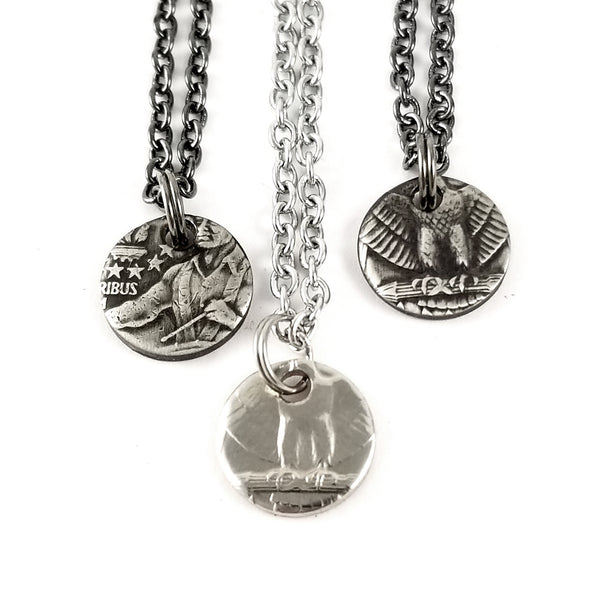 1965-1998 Washington Quarter Eagle Charm Necklace by midnight jo