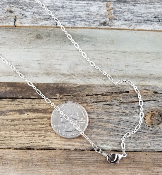 Daffodil Silverplate Spoon Necklace Pendant