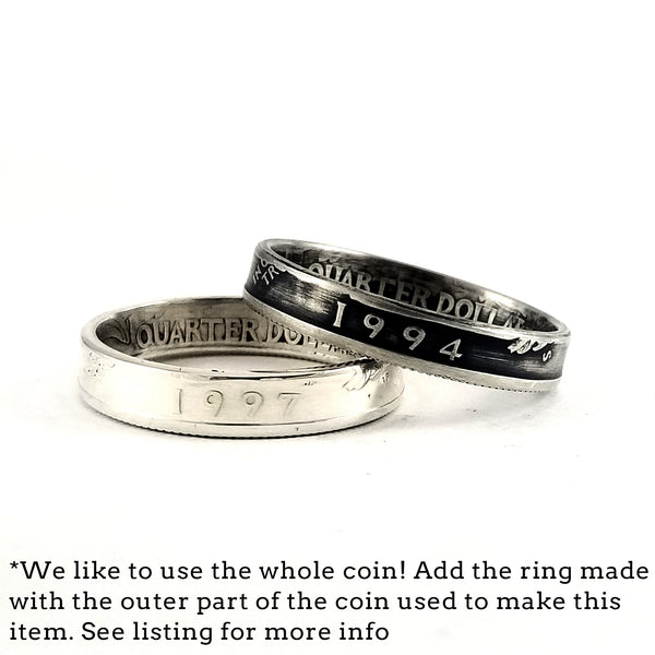 washington quarter stacking rings by midnight jo