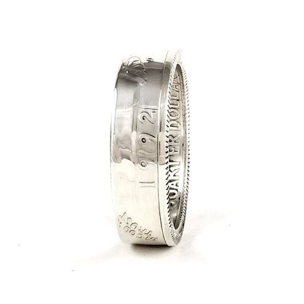 Silver 1992 Washington Quarter Ring by midnight jo