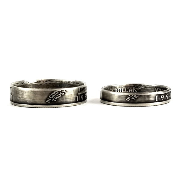 his and hers anniversary ring set by midnight jo