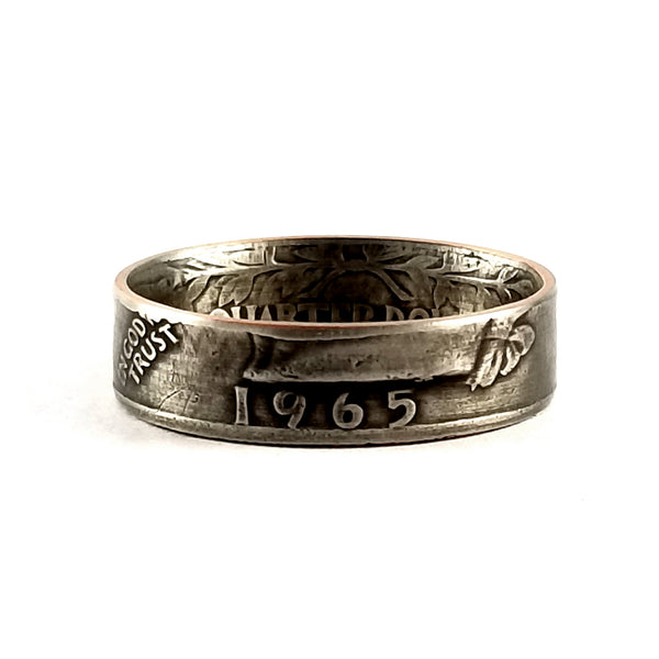 1965 Washington Quarter Ring by midnight jo