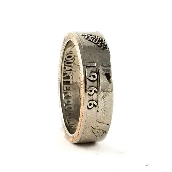 1966 Washington Quarter Ring by midnight jo