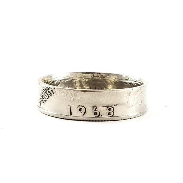 1968 Washington Quarter Ring by midnight jo