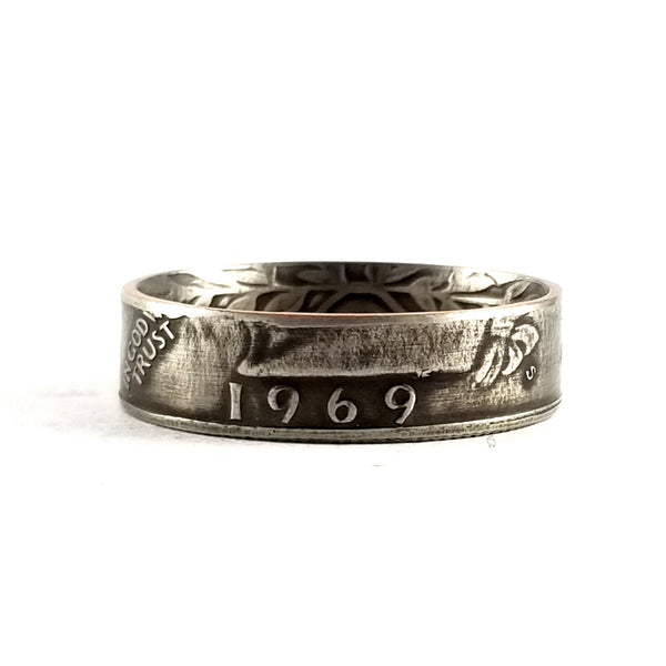 1969 Quarter Coin Ring by midnight jo