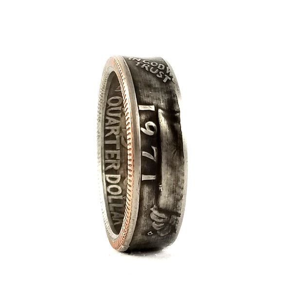 1971 Quarter Coin Ring by midnight jo