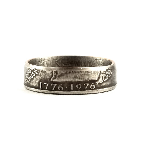 1776-1976 Bicentennial Drummer Boy Quarter Ring by midnight jo