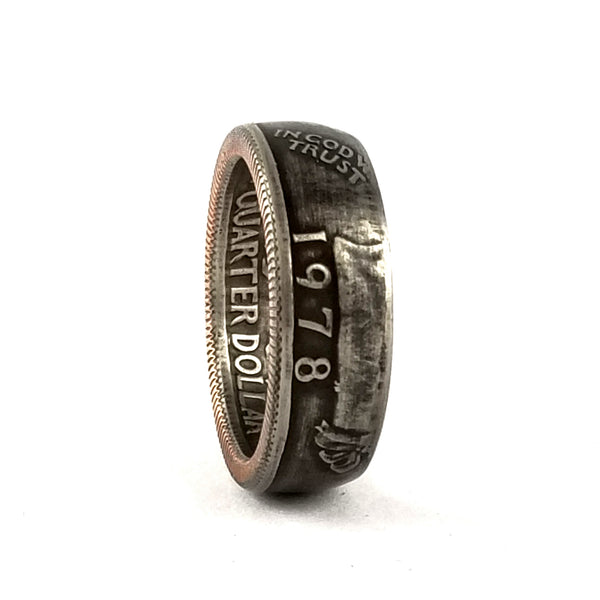 1978 Quarter Coin Ring by midnight jo