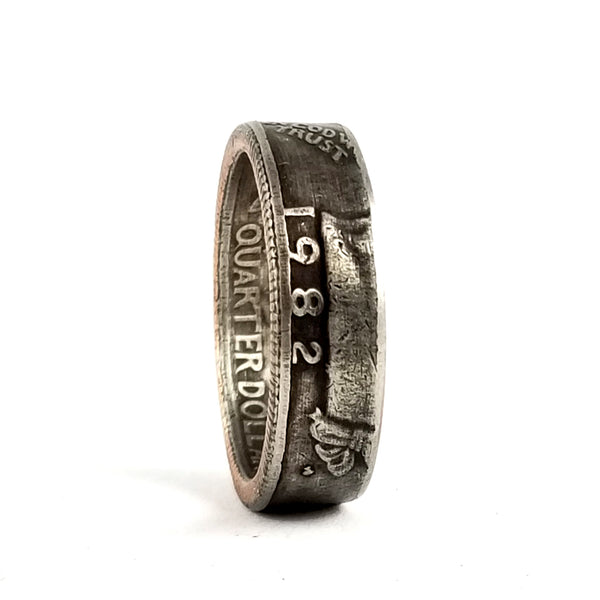 1982 Liberty Quarter Coin Ring by midnight jo