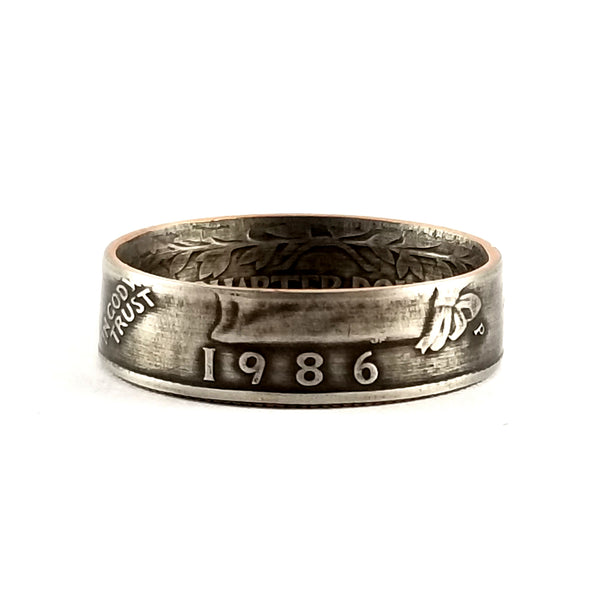 1986 Quarter Ring by midnight jo